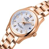 Carnival Women's Automatic Mechanical Watch Fashion Rose Gold Dress