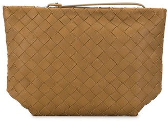 Bottega Veneta Intrecciato Zip-Up Pouch