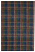 "Chilewich Plaid Floor Mat, 72"" x 106"""