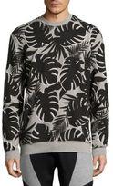 Markus Lupfer Palm Printed Sweatshirt