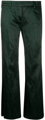 Prada Pre Owned 1990s Flared Trousers