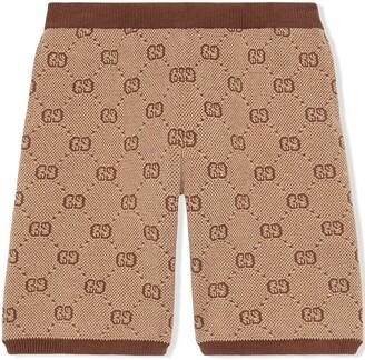 Gucci Kids Shorts in lana GG