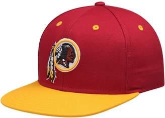 Redskins Outerstuff Youth Burgundy/Gold Washington Two-Tone Flatbrim Snapback Adjustable Hat