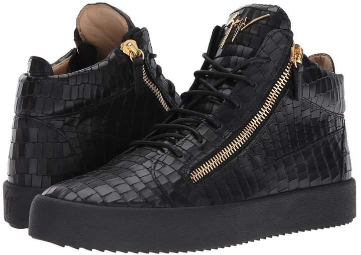 Giuseppe Zanotti May London Mid Top Zayn Sneaker Men's Lace up casual Shoes