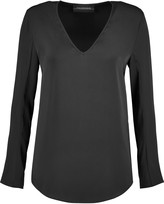 By Malene Birger Mizar stretch-silk blouse
