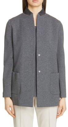 Fabiana Filippi Long Scuba Jersey Jacket