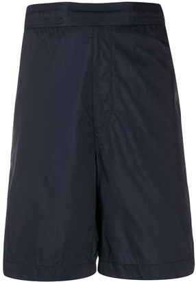 Acne Studios elasticated-waist ripstop shorts