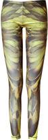 McQ by Alexander McQueen Bleached Neon/Brown Printed Leggings