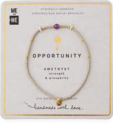 WE Rafiki Bracelet for Opportunity, Amethyst
