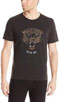 John Varvatos Men's Bite Me Leopard Graphic T-Shirt