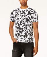 Sean John Men's Big and Tall Graffiti-Print T-Shirt