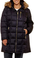 Liz Claiborne Heavyweight Puffer Jacket-Plus