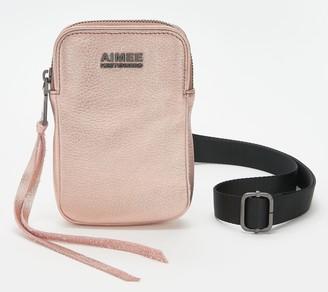 Aimee Kestenberg Leather Crossbody Bag - Just Saying