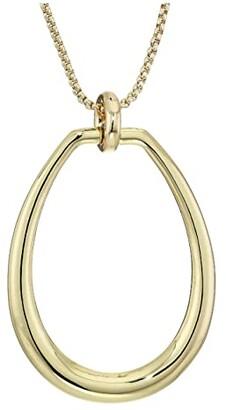 Lauren Ralph Lauren 36 Link Pendant Necklace (Gold) Necklace