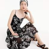J.Crew Mercantile tiered maxi dress in daisy floral