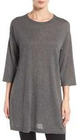 Eileen Fisher Women's Tencel & Merino Wool Blend Tunic