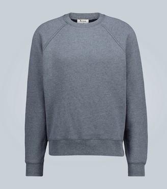 Acne Studios Rear logo cotton-blend sweatshirt