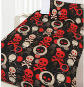 Skull Glow in the Dark Quilt Cover Set