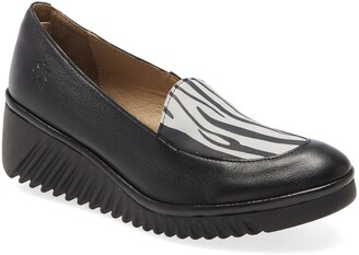 Fly London Luan Wedge Loafer