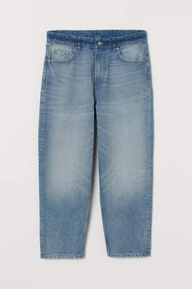 H&M Loose Jeans - Blue