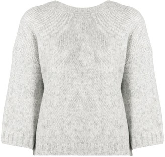 BA&SH June buttoned jumper