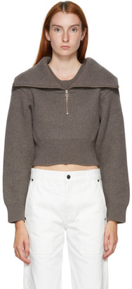 Jacquemus Brown La Maille Risoul Sweater
