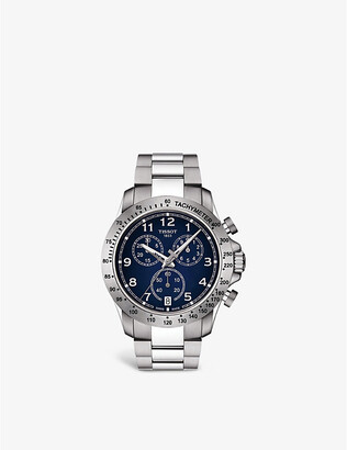 Tissot T039.417.11.047.02 V8 stainless steel chronograph watch