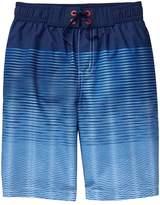 Crazy 8 Stripe Swim Trunks