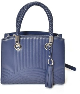 Imoshion Handbags Double Braided Handles and Front Design Satchel