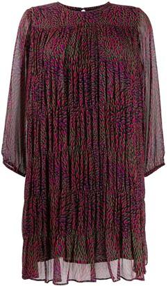 BA&SH Grace chiffon dress