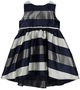 Beetle & Thread Striped Hi-Lo Dress (Toddler & Little Girls)