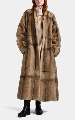 The Row Women's Tanilo Belted Mink Fur Coat - Beige, Tan