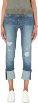 Hudson Muse skinny mid-rise turn-up jeans