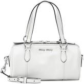 Miu Miu Mini Bowler leather cross-body bag