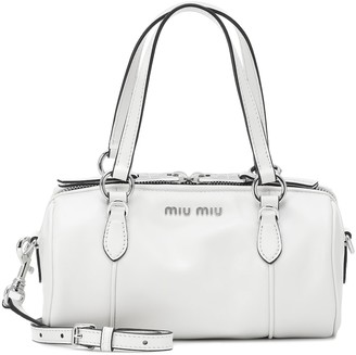Miu Miu Mini Bowler leather cross-body bag
