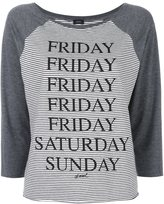 Diesel 'Friday, Saturday, Sunday' T-shirt