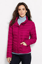 Lands' End Women's Lightweight Down Jacket-Pewter Heather
