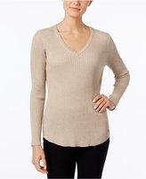 Calvin Klein Ribbed V-Neck Sweater