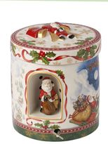 Villeroy & Boch Christmas Toys Gift Box Santa`s Flight