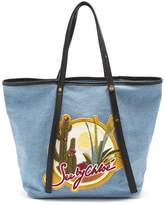 See by Chloe Cactus denim tote bag