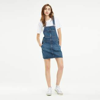 Tommy Hilfiger Recycled Cotton Denim Overall Dress