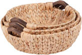 Honey-Can-Do Set Of Three Round Baskets