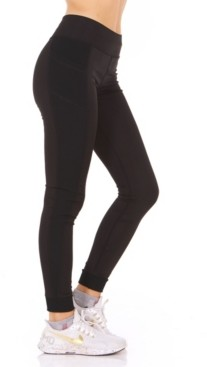 Therapy Ribbed Side Pocket Mid-Rise Leggings