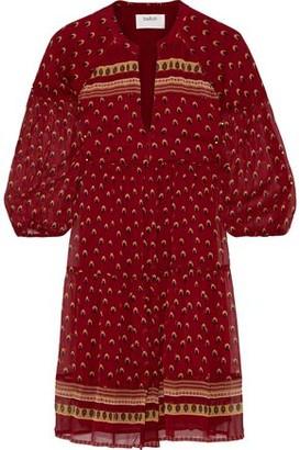BA&SH Bailey Printed Georgette Mini Dress