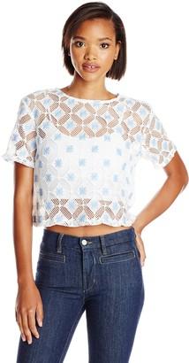 Glamorous Women's Short-Sleeve Top