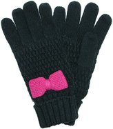 Grand Sierra Girls' 7-16 Knit Glove with Bow