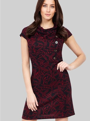 M&Co Izabel leaf print tunic dress