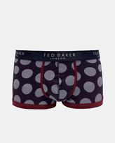 Ted Baker Spot print organic cotton-blend boxers