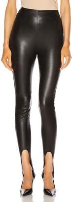Saint Laurent Skinny Legging in Nero | FWRD