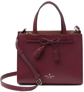 Kate Spade Hayes Leather Satchel